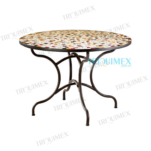 Round-Ceramic-Mosaic-Outdoor-Dining-Table (4)
