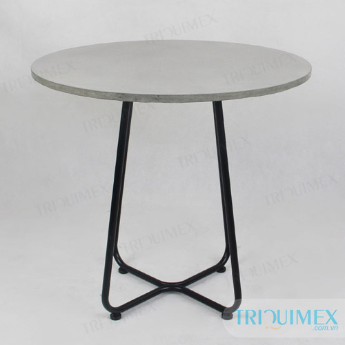 Superbe ... Lightweight Concrete Round Table (7)