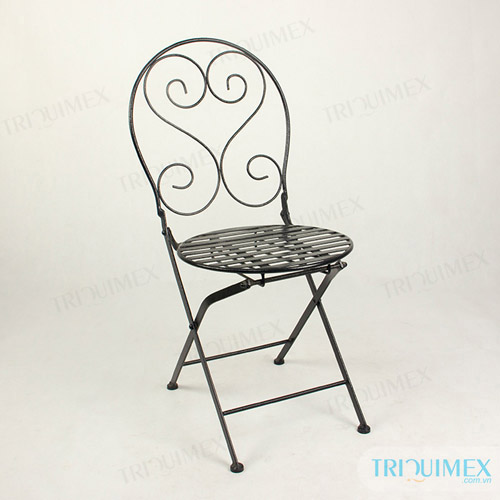 wrought-iron-folding-chair
