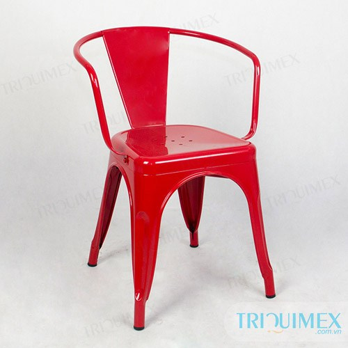 GH-118 Wrought iron Tolix chair