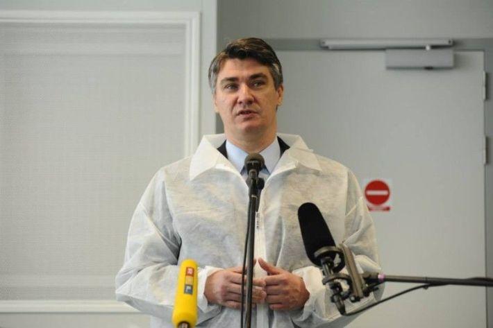 Premijejer Zoran Milanović