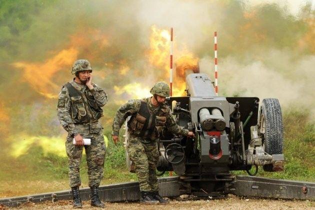 Topnička vježba Hrvatske vojske