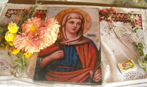 U crkvici sa 'ženskom vodom' kod Vevčanskih izvora