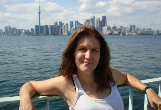 Dora Žganjer ovog ljeta na izletničkom brodu ispred Toronta