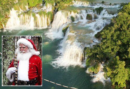 Božićna priča u NP Krka: Dobri snjegović i snježne kugle od recikliranog materijala