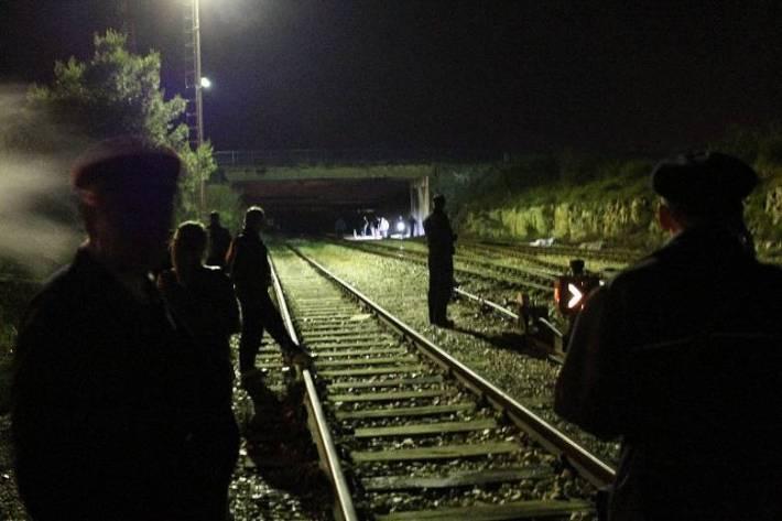 Željeznička nesreća u Ražinama