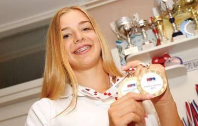 'Zlatna' proglađenna vrhunskim sportašem (foto: Grad Šibenik)