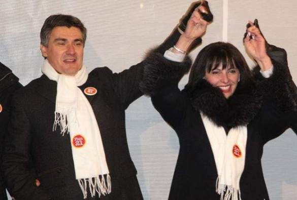 Premijer Milanović i Lovrić Merzel (Foto Facebook)