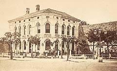 Zgrada šibenske knjižnice prije 2. svjetskog rata
