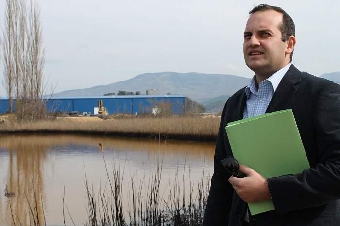 Knin - zagađenje Orašnice i Krke (Foto H. Pavić) (2)