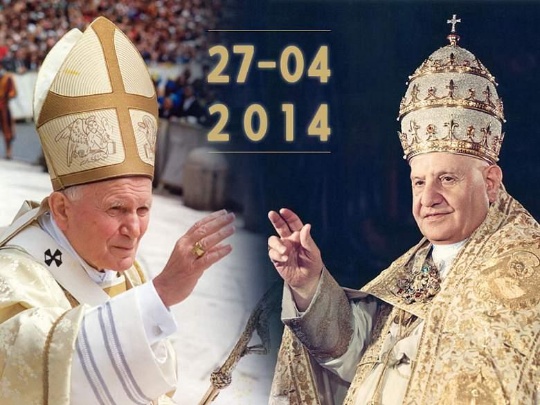 Dva nova sveca Katoličke crkve – Ivan Pavao II i Ivan XXIII