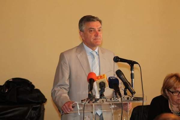 Gradsko vijeće Šibenika - gradonačelnik Željko Burić (Foto H. Pavić)  (4)
