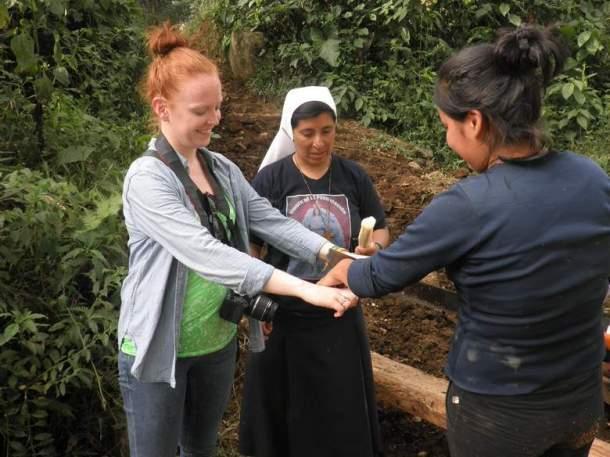 Rezanje šećerne trske mačetom