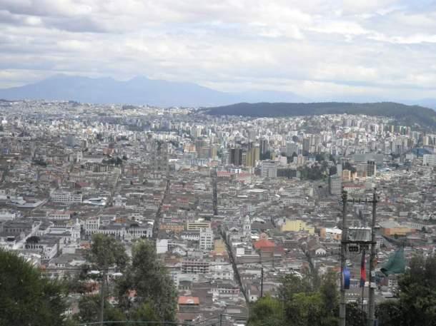 Panorama glavnog grada Quita
