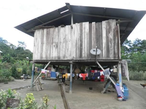 Tipična kuća u obalnom dijelu Amazonije