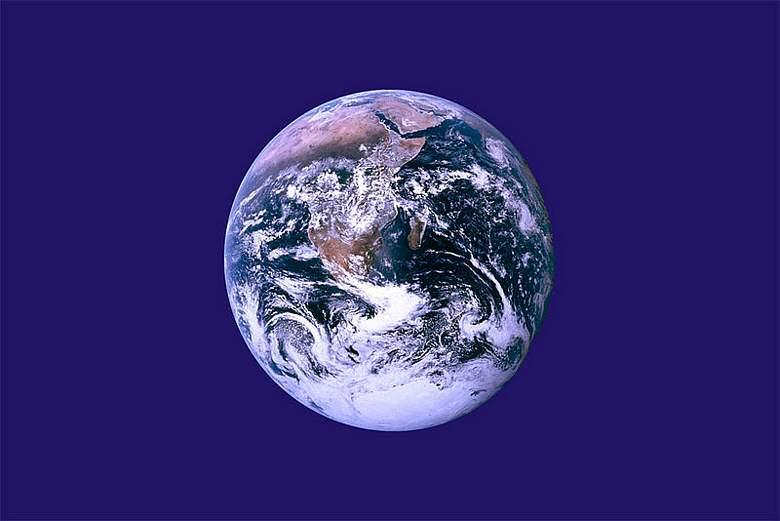 Zastava Zemlje iz 1969. godine