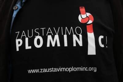 Prosvjedi protiv istarske termoeletrane: zbog Plomina C bi ranije umrlo 680 osoba