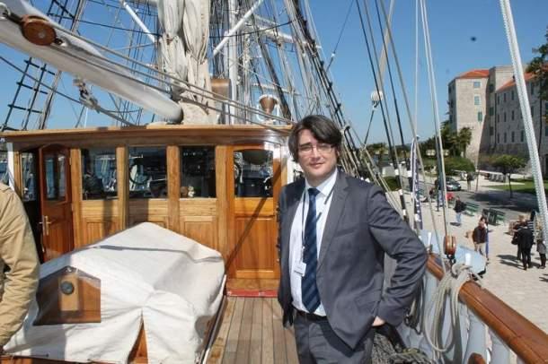 Bertrand Delaye: šibenski zet na palubi francuske pomorske legende (foto H. Pavić)