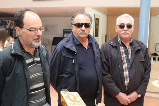 Darko Jurić, Joso bagić i Tihomir Jurković iz Udruge (foto H. Pavić)