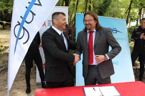 Kristijan Curavić i Tonči Restović (Foto: NP Krka)