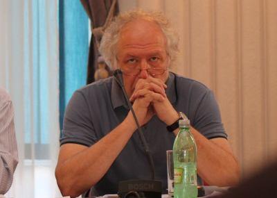Predsjednik Hrvatskog novinarskog društva Zdenko Duka (Foto Tris/H. Pavić)
