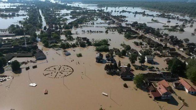 Gunja za najvećih poplava iz MORH-ova helikoptera (Foto:HRZ i PZO/N. Gažo)