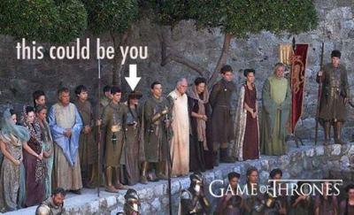 Traže se statisti za 'Igru prijestolja'