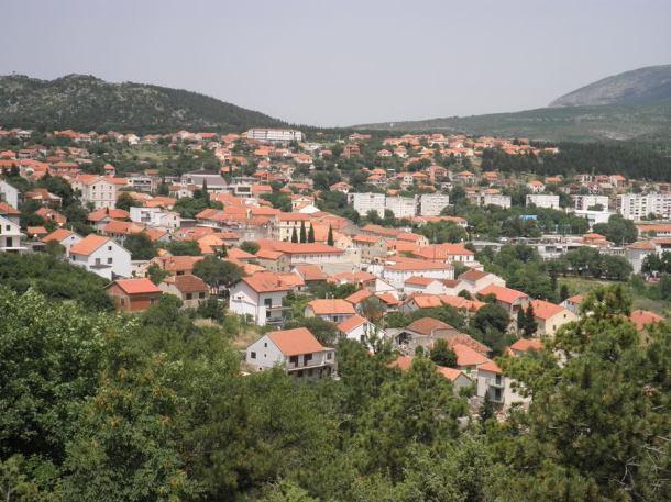 Panorama Drniša, snimila: J.Klisović