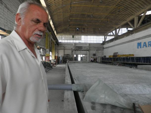 Nenad Čuka, direktor proizvodnje u Marinetek NCP