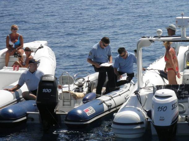 Policija u akciji, snimila: J. Klisović