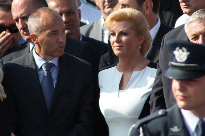 Kolinda Grabar Kitarović na kninskoj tvrđavi 5. kolovoza 2014. (Foto H. Pavić) (2)