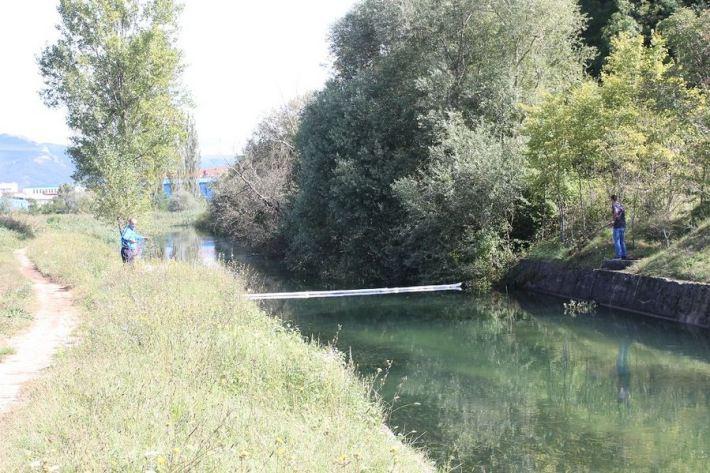 Kiše počistile kninsku lagunu mazuta (Foto H. Pavić) (6)