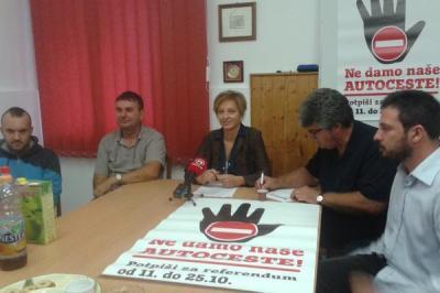 Istrijani udruženi protiv monetizacije (izvor: Zelena Istra)