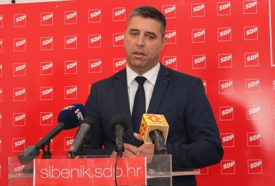 Predsjednik GO SDP-a Franko Vidović (Foto: H. Pavić)