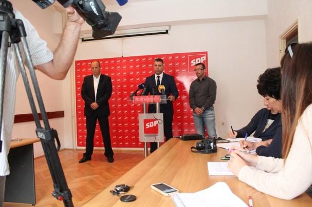 SDP - Konferencija za novinare 20. listopada 2014 (Foto: H. Pavić)