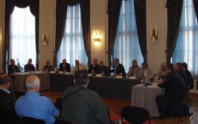 Okrugli stol 'Kaznite stečajnu mafiju' održan je danas u Novinarskom domu u Zagrebu (Foto: Udruga 'Kotektiv')