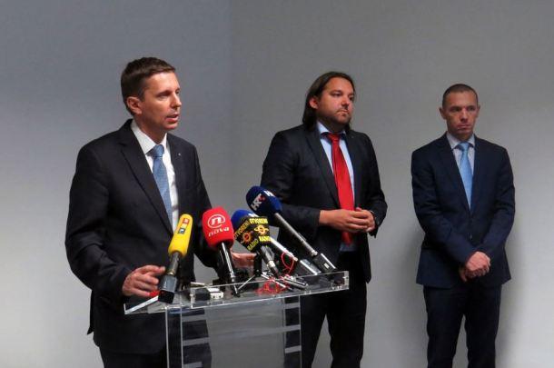 Konferencija za novinare o operativnoj akciji 'Smilje'