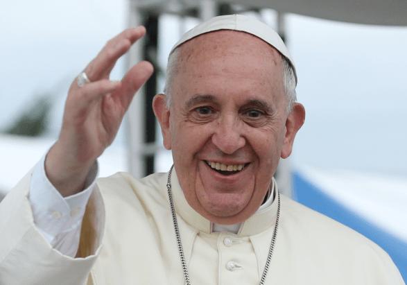 Katolički čelnik Papa Franjo za posjeta Koreji (izvor Wikipedia)
