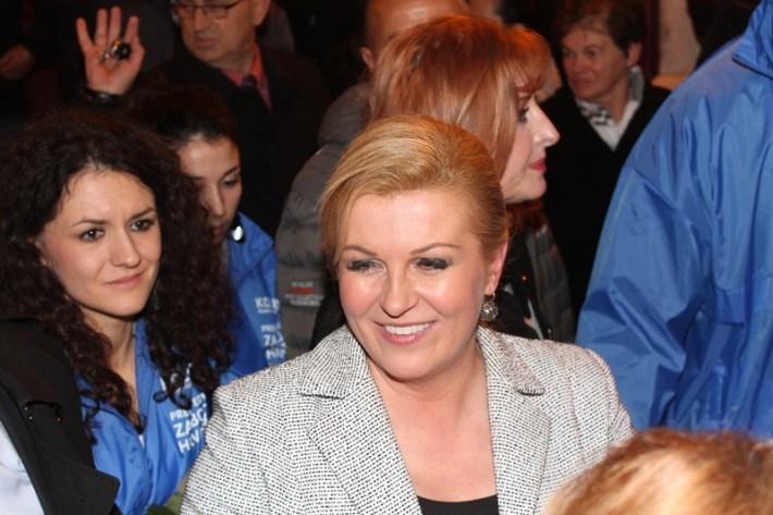 Kolinda Grabar Kitarović - predizborni skup u Šibeniku (17)