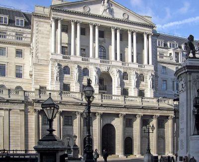 Središnjica Bank of England u Londonu (ilustracija)