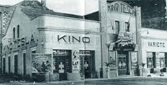 Šibensko kino Tesla nekada davno - Wikimedia commons