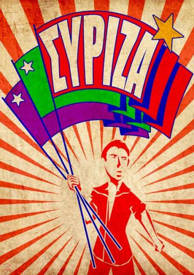 Plakat Syrize