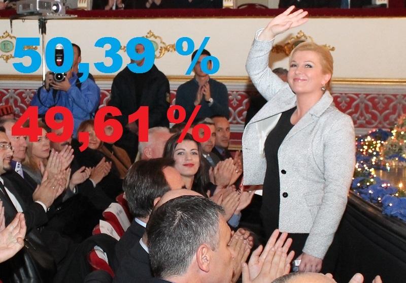 Hrvatska izabrala predsjednicu