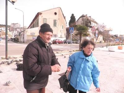 Josip i Margareta Prebeg, snimila: J. Klisović
