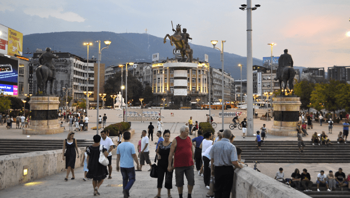 Plostad-Makedonija-Skopje-Central-Square