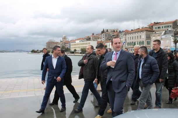 Premijer Zoran Milanović u Šibeniku (Foto H. Pavić) (1)