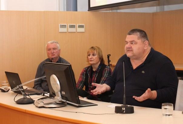 Nediljko Pušić, Davorka Blažević i Vjeran Piršić (Foto Tris/H. Pavić)