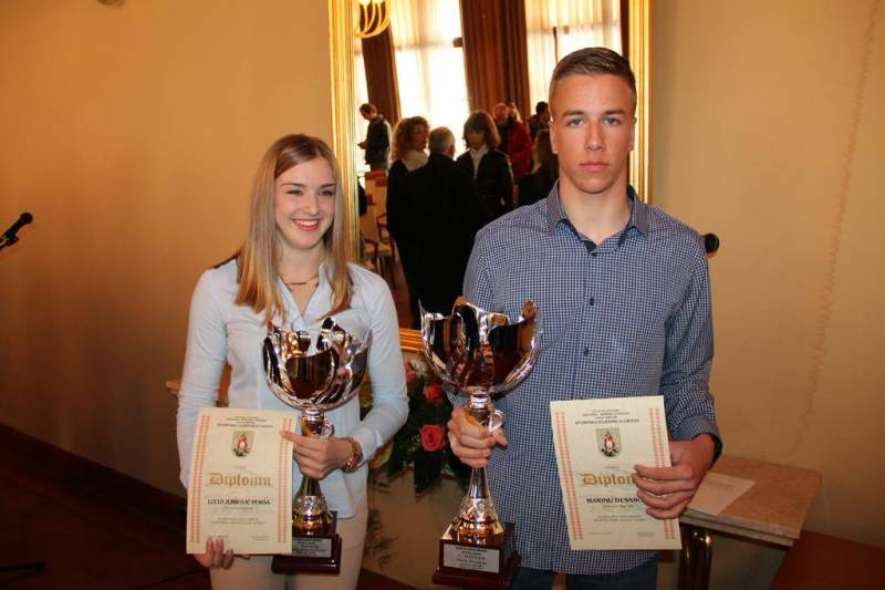 Lucija Jurković Periša i Marin Desabota