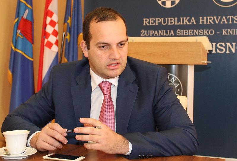 Ivan Klarin, načelnik Općine Tisno i saborski zastupnik (Foto: Tris/H. Pavić)