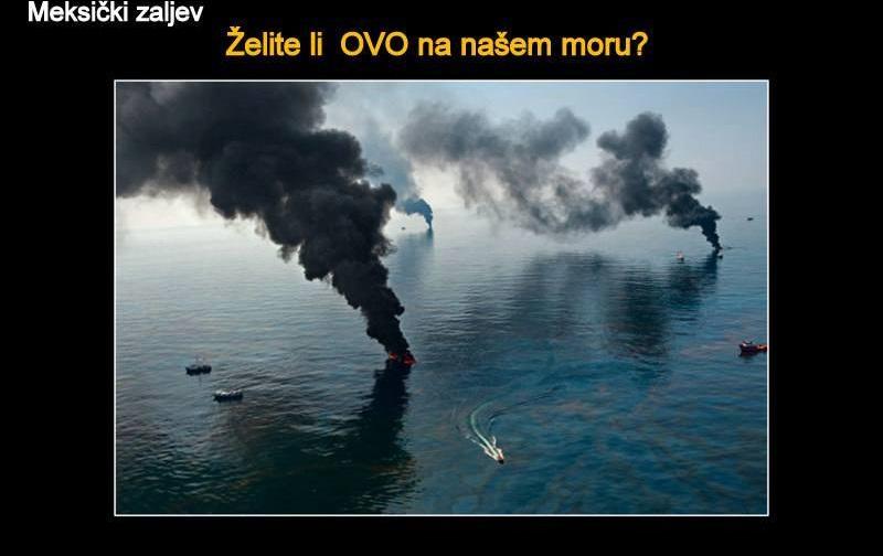 Ujedinjeni Jedan Jadran EU glavešinama: Zaustavite crpljenje i istraživanje nafte